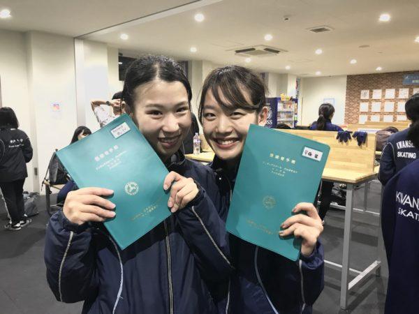 【フィギュア部門】バッジテスト結果報告