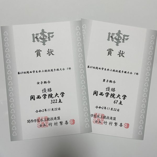 【フィギュア部門】関西インカレ